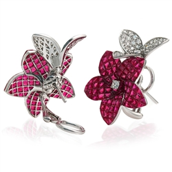 Bel Air Jewelry Los Angeles ruby earring