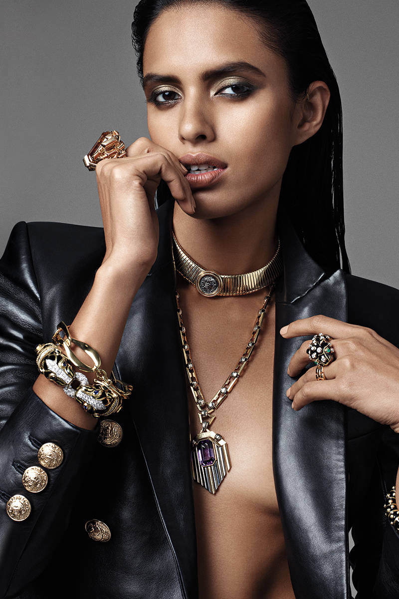 Bold Gold Jewelry Makes A Comeback This Season