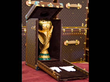 World Cup 2014 Louis Vuitton Fashion Trophy Case!
