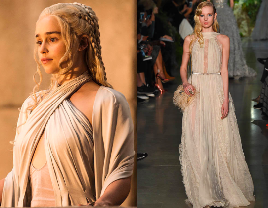 The Mother of Dragons Influences the Spring 2015 Runways