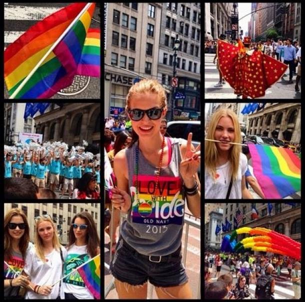 Celebrating Pride With Model JosephineSkriver